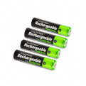x4 AAA Rechargeable Batteries (900mAh)